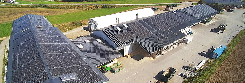WALDLAND verdoppelte die Photovoltaikflächen auf den Produktionshallen