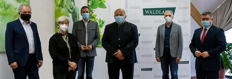 Neu gewählter WALDLAND Vorstand tagt erstmals