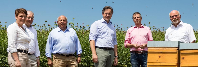 Landwirtschaft und Imkerei – eine erfolgreiche Partnerschaft