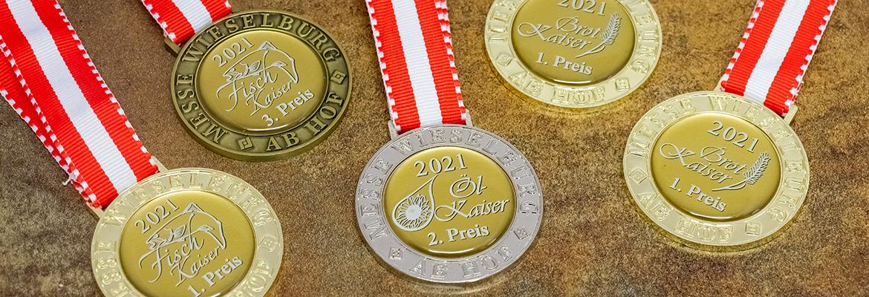 Mehrfache Auszeichnungen für Waldland Spezialitäten